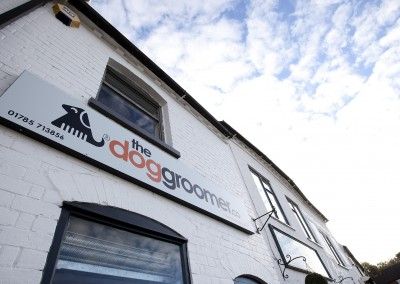 Our salon front - The Dog Groomer, Penkridge